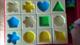 getlinkyoutube.com-Anpanman toys slide puzzele (Japanese cartoon, anime )アンパンマンおもちゃ知育パズル