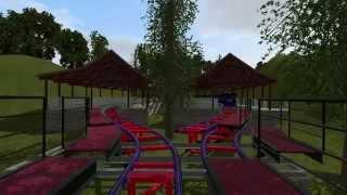 getlinkyoutube.com-Blue Rush NoLimits 2 Coaster
