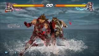 Uptown Funk - Tekken 7 Dance Remix
