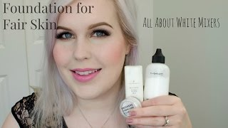 getlinkyoutube.com-Foundation for Fair Skin, All About White Mixers