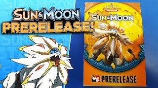 getlinkyoutube.com-Pokemon SUN & MOON Prerelease Kit Opening with 4 Sun & Moon Booster Packs!