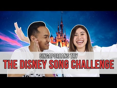 Singaporeans Try: The Disney Song Challenge | EP 93