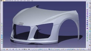 getlinkyoutube.com-Catia V5 Tutorial|Generative Shape Design|Advanced Surface Geometry|How to Create Diabolo Surface