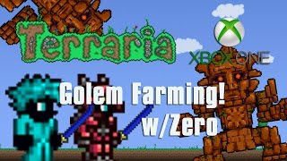 getlinkyoutube.com-Terraria Xbox One - EASY GOLEM FARM!  W/ZEROxFUSIONZ