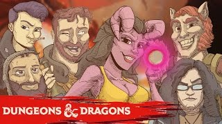 getlinkyoutube.com-TWITS AND CRITS - Funhaus Dungeons and Dragons Part 1