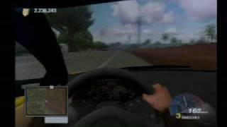 getlinkyoutube.com-Test Drive Unlimited PS2 Gameplay: Lamborghini Murcielago