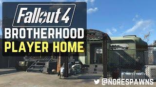 getlinkyoutube.com-Fallout 4 - Brotherhood of Steel Player Home