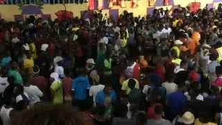 getlinkyoutube.com-Haiti Kanaval 2015 - Powerline Accident Rescue Team
