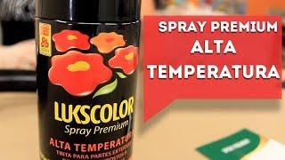 Lukscolor - Spray Premium Alta Temperatura