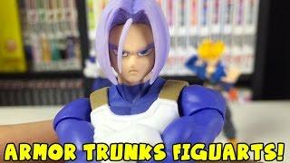getlinkyoutube.com-Amazing Armor Future Trunks Figure! SH Figuarts Unboxing & Review (GIVEAWAY DETAILS!)