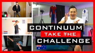getlinkyoutube.com-Continuum take the Dance Challenge 🕐 Moves In Minutes