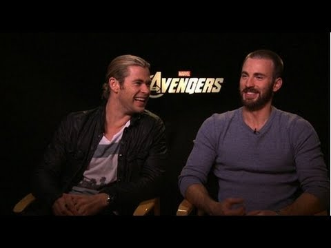 Chris Hemsworth and Chris Evans Talk The Avengers and Sharing the Superhero Spotlight