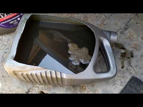 Замена масла в коробке ВАЗ 2115