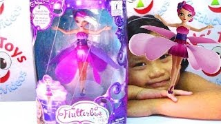 getlinkyoutube.com-Flutterbye Flying Fairy Doll by Spin Master - Kids' Toys
