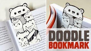 getlinkyoutube.com-DIY ~ Mini Doodle Bookmark