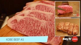Kobe Beef A5 เนื้อโกเบ Steak Wakkoqu