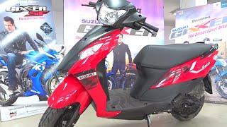getlinkyoutube.com-#ScooterFest: New Suzuki Lets Dual Tone Walkaround Review (3 Colours, 2016)