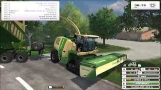 getlinkyoutube.com-Farming Simulator 2013 Best Mods S2 E1 - Brunzdorf Map and Krone Big X 1000