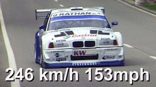 getlinkyoutube.com-Georg Plasa with Onboard at fastest Hillclimb St-Ursanne 2006! BMW 320 V8, 560HP, 890kg. Remastered