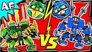 getlinkyoutube.com-LLOYD vs JAY - Lego Ninjago MECH BATTLE #2 - Ending A