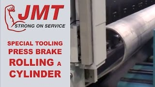 getlinkyoutube.com-Press Brake | JMT Brake Forming Cylinder with Specialized Tooling