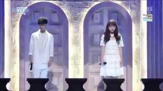 getlinkyoutube.com-Live HD | 140413 Akdong Musician - Melted & 200% (Debut Stage) @ SBS Inkigayo