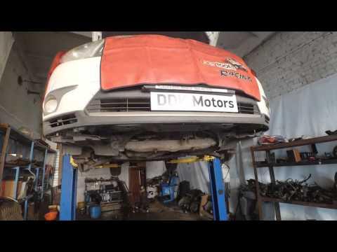 Снимаем двигатель Toyota Highlander (Тойота Хайлендер) 3.5