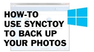 getlinkyoutube.com-How-To use SyncToy back up your files/photos