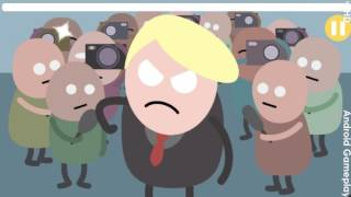 getlinkyoutube.com-Dumb ways to punch Trump  Android Casual Gameplay HD