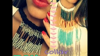 getlinkyoutube.com-DIY: Collar de Cascada!♡