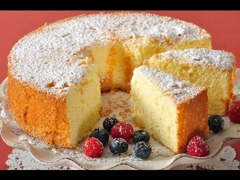 American Sponge Cake Recipe Demonstration - Joyofbaking.com