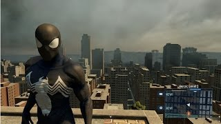 getlinkyoutube.com-The Amazing Spider-Man 2 - Black Suit | Costume Free Roam Gameplay [HD]
