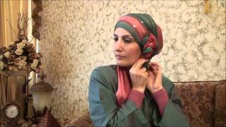 getlinkyoutube.com-Hijab Tutorial # 11(Elegant Hijab w/ Twisted Flower)