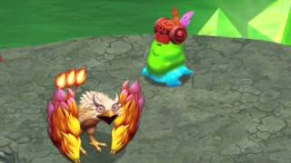 getlinkyoutube.com-My Singing Monsters: Dawn of Fire | Yelmut And Glowl Duet (Cave Island) | CTS