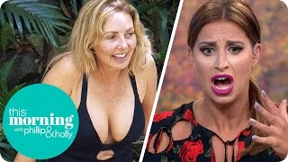 getlinkyoutube.com-I'm A Celeb Gossip - Carol's Curves, Beardy Ant And Spice Girl Approved Singing | This Morning