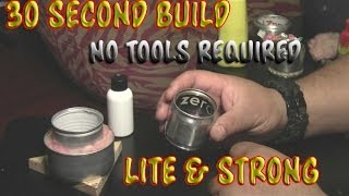 getlinkyoutube.com-Make An Alcohol Stove in 30 Seconds, No Tools Required (plus more stoves)