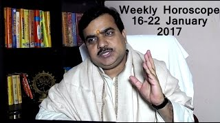 getlinkyoutube.com-Weekly Horoscope 16-22 January,2017 Rashifal in Hindi by Pt Deepak Dubey