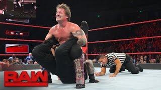 getlinkyoutube.com-Roman Reigns vs. Chris Jericho - United States Championship Match: Raw, Dec. 5, 2016