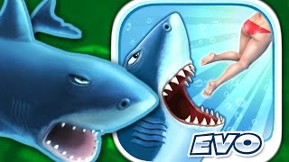 getlinkyoutube.com-GREAT WHITE SHARK - Hungry Shark Evolution - Part 6 (iPhone Gameplay Video)