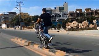 getlinkyoutube.com-fahad butt sialkot wheeler pakistan 2017 motor bike stunt dangerous one wheeling mob 0300 7121313