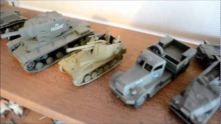 World War 2 Armour - 1:72/76 Scale Model Kit Collection