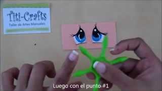 getlinkyoutube.com-Plantillas para ojos de fofuchas, cómo usarlas