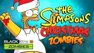 getlinkyoutube.com-SIMPSONS CHRISTMAS ZOMBIES (Call of Duty Black Ops 3 Zombies)