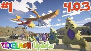 getlinkyoutube.com-PIXELMON Update 4.0.3 #1  โปเกม่อนใหม่ โฮโอ,บังกิราส,กรัมบุล,อุซกกี้ และของใหม่
