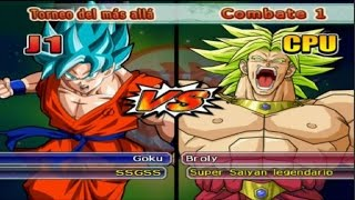getlinkyoutube.com-Dragon Ball Z Budokai Tenkaichi 3 - Versión Latino *Torneo del más allá - Goku SSGSS