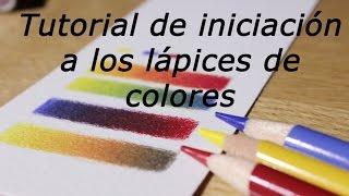 getlinkyoutube.com-Iniciación a los lápices de colores (cómo mezclar y hacer degradados)