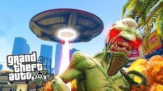 getlinkyoutube.com-GTA 5 PC Mods - UFO MOD w/ ABDUCTION & DESTRUCTION! GTA 5 UFO Mod Gameplay! (GTA 5 Mods Gameplay)