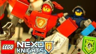 getlinkyoutube.com-Lego Nexo Knights 2017 - Боевые Доспехи Мейси 70363 - Игра и Мультики для Детей