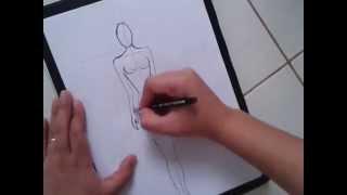 getlinkyoutube.com-como desenhar croqui