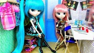 getlinkyoutube.com-How to Make a Doll Backstage Dressing Room - Doll Crafts